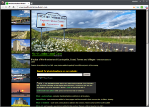 Northumberland Cam Website