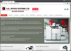 UK Office Sysytems Website