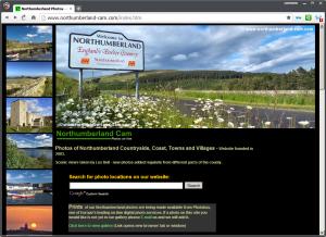 Northumberland Photos Website