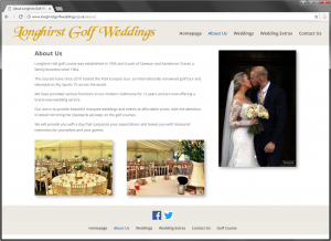 Longhirst Golf Weddings